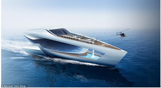 专为亿万富翁打造!超豪华游艇CF8概念设计曝光