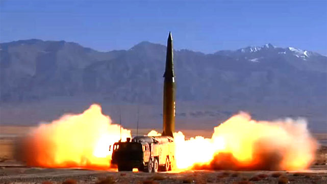 改进型东风16导弹毁伤效果惊人
