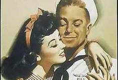 """美二战征兵用""""美人计"""":你若当兵 美女入怀"""