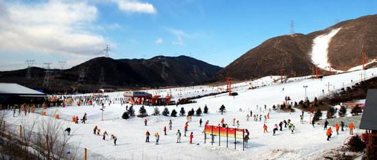 北京军都山滑雪场