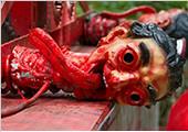 走进泰国超恐怖寺庙 蜡人受刑场面警告轮回之苦