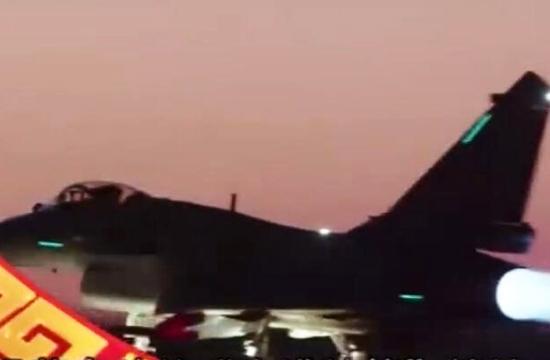 军方拜年视频出现歼10B战机