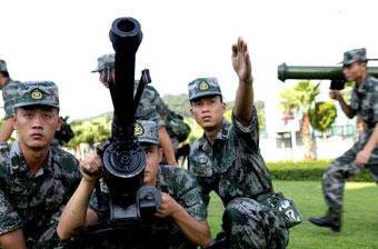 驻澳部队训练端出重型武器