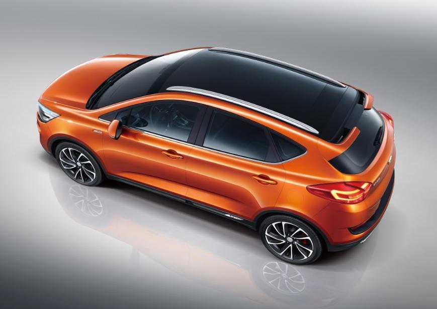 命名帝豪GS 吉利首款跨界SUV官图发布高清图片