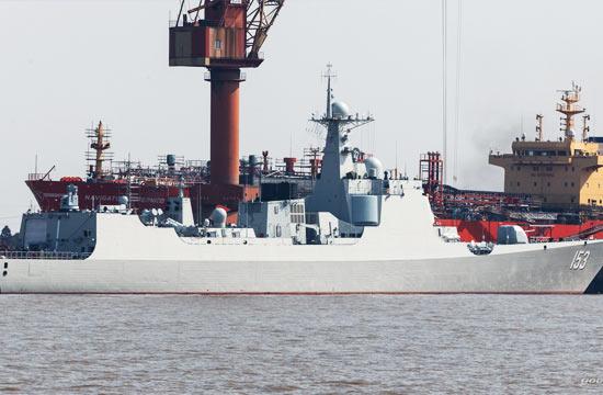 船厂里的最后一艘052C神盾舰
