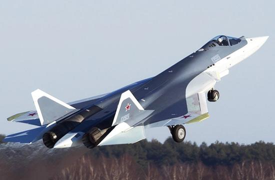 俄军T-50五代机又换新式涂装