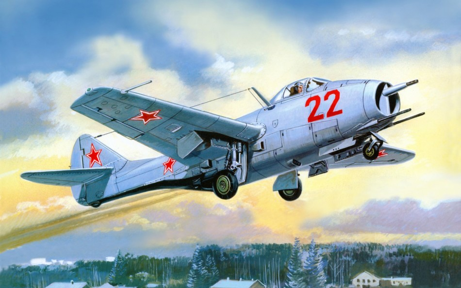 霸气展露:苏俄飞机精彩手绘