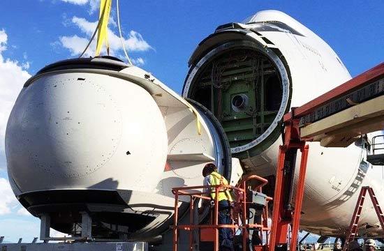 美军拆毁唯一一架激光炮试验机