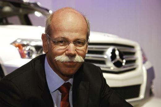 戴姆勒CEO蔡澈:发展纯电动车比燃料电池车有优势