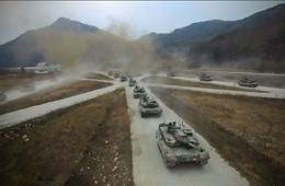 韩军发布K2坦克训练大片展示武力