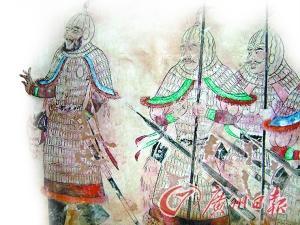 """唐代士兵装备:有舂米工具 有""""撬锁""""工具"""
