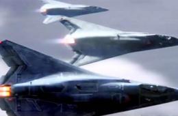 美国军工厂商展示第六代战机外形炫酷