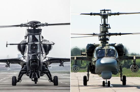 中俄顶级武装直升机多角度PK