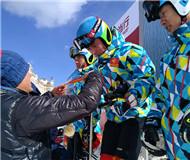 全国高山滑雪锦标赛 解放军选手强势包揽男女冠军