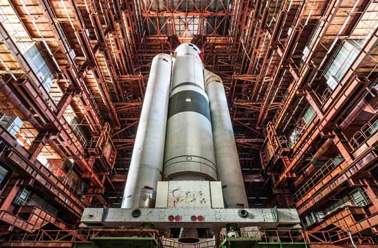 苏联骄傲的重型火箭今日惨状