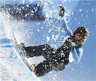 挪威:2016冬季极限运动会开幕 滑雪达人大展炫酷绝技