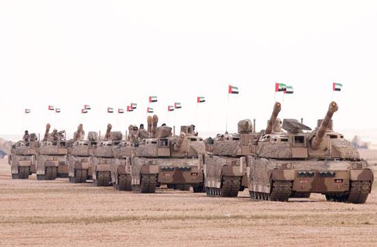 沙特举办20国军演出动最贵坦克