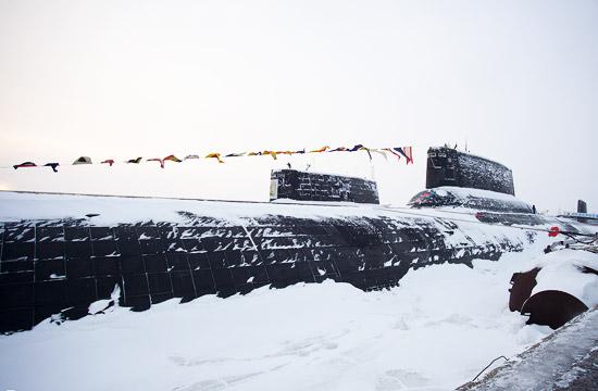 被冰封的俄军核潜艇里别有洞天