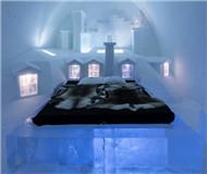 瑞典冰雪酒店美轮美奂 用5000吨冰雪打造