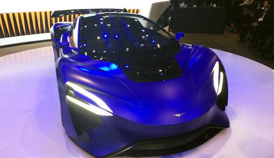 中国电动超跑亮相日内瓦车展