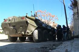 实拍多国记者在叙利亚遭其炮击受伤