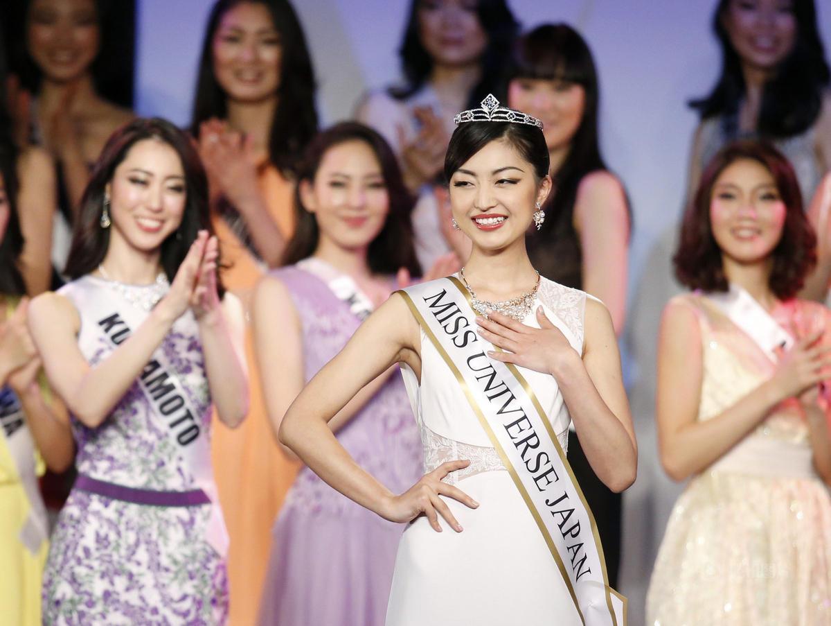 2016世界小姐日本区冠军诞生 22岁大学生夺冠