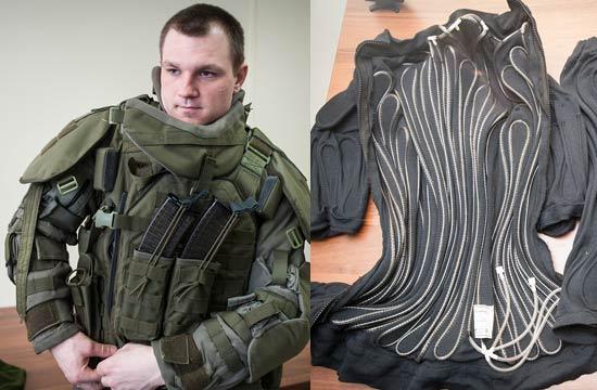 揭秘俄罗斯战斗工兵的水冷护甲