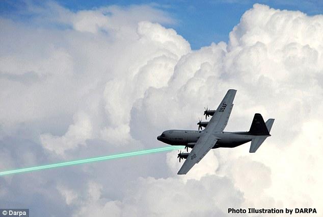 美军计划2023年部署激光武器 海陆空多方测试