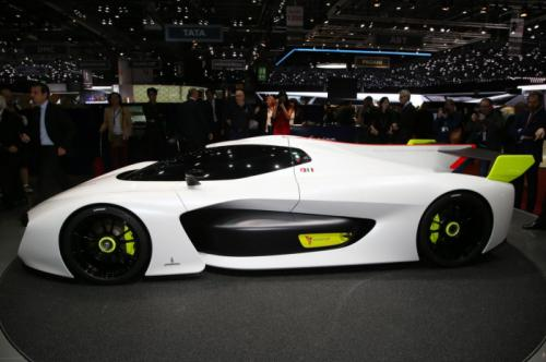 宾尼法利纳氢动力赛车亮相日内瓦车展