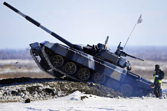 俄罗斯2016坦克大赛战幕开启