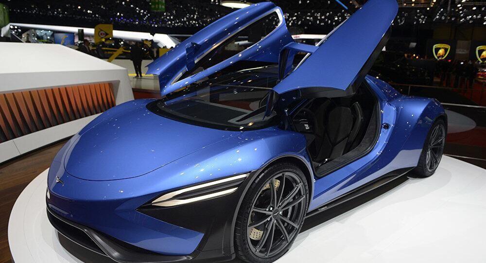 中国电动跑车首次在日内瓦汽车展上亮相