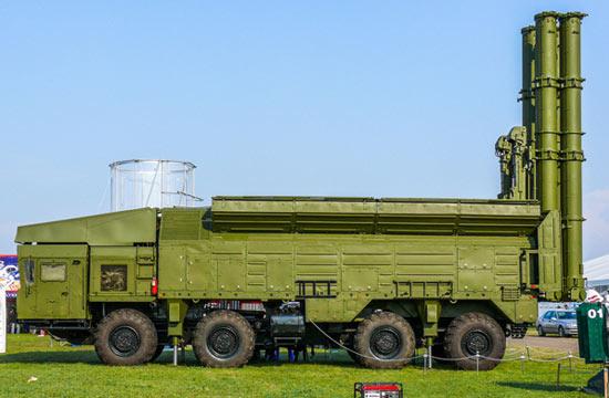 俄军陆基巡航导弹外形彪悍