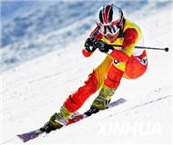 """高山滑雪中巡赛完美收官尤青、刘吉摘得""""金头盔"""""""