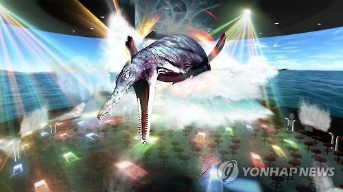 韩恐龙博览会将开幕 打造高科技与恐龙互动