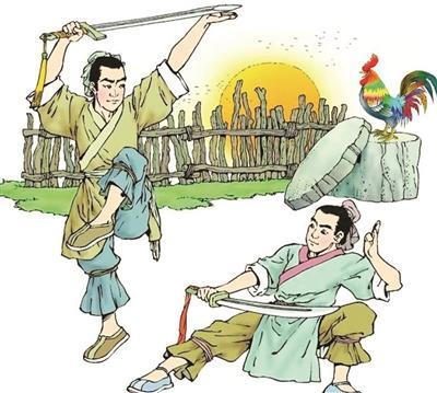 """祖逖:""""闻鸡起舞""""""""击楫中流"""" 主张劫富济贫"""