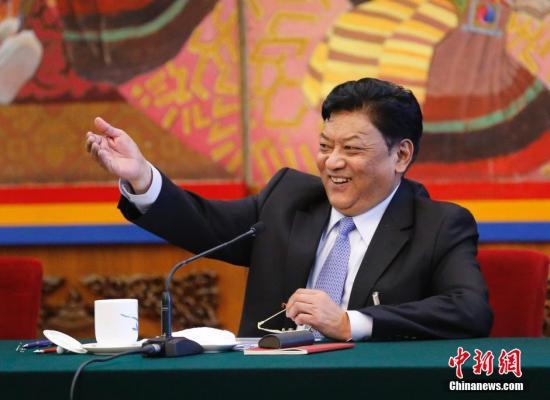西藏人大主任:达赖想和谈必须放弃西藏独立