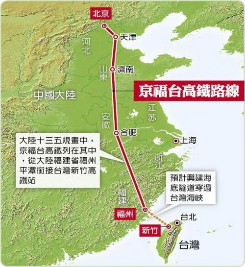 """台""""行政院长""""等就京台高铁表态:大陆说了不算"""