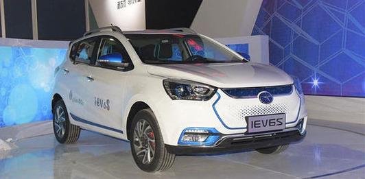 江淮纯电动SUV车型iEV6S将于4月25日上市-新能源高清图片