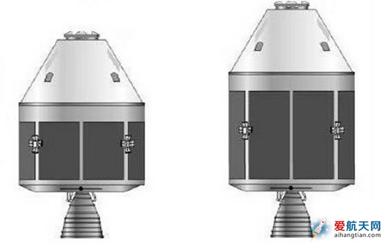 中国新一代载人飞船曝光 分两个型号(图)