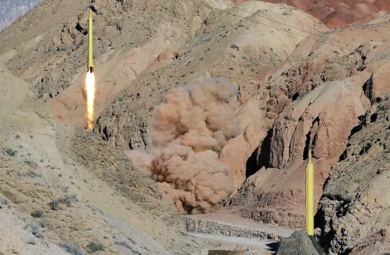 伊朗连续发射国产弹道导弹