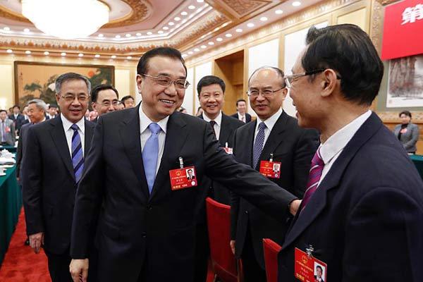 李克强参加广东代表团审议
