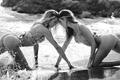 维秘海滩泳装秀