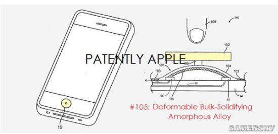 苹果液态金属Home键专利曝光 iPhone7/SE无缘