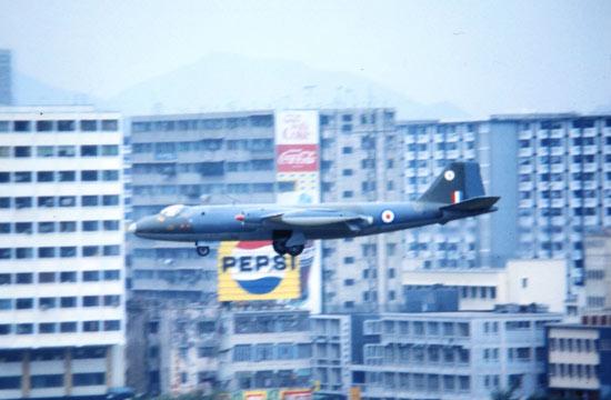49年后英军在香港部署过的战机