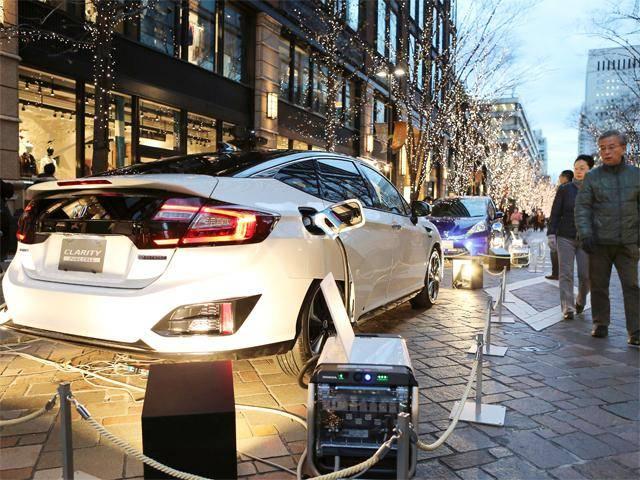 本田Clarity燃料电池车日本上市 起价合43万