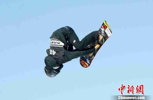 单板滑雪世锦赛:张义威获男子空中技巧半决赛第18名