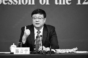 环保部部长陈吉宁:各地黑臭水体名单定期公布