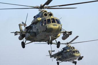 俄罗斯各型直升机遍布世界各地