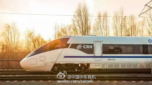 """中国380公里级动车组 装载世界""""最强大脑"""""""