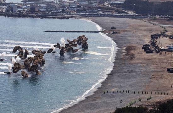 韩美模拟D-Day登陆场面盛大